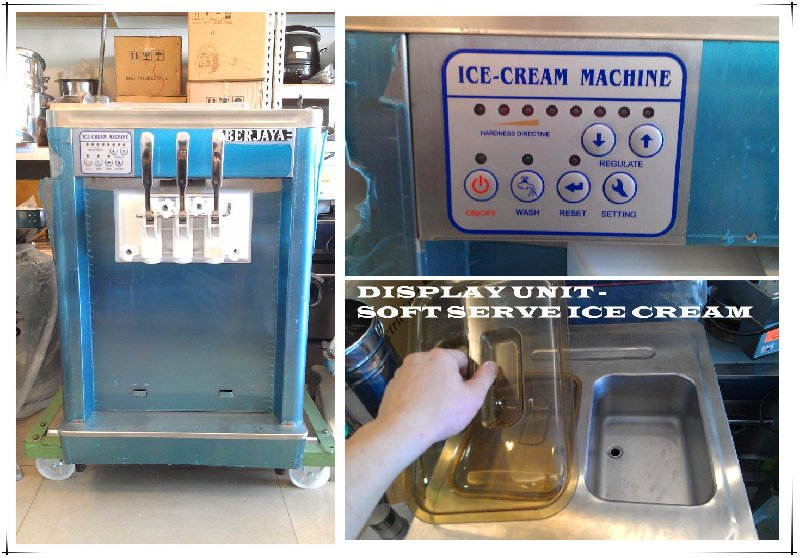 DISPLAY UNIT - SOFT SERVE ICE CREAM MACHINE FOR SALE