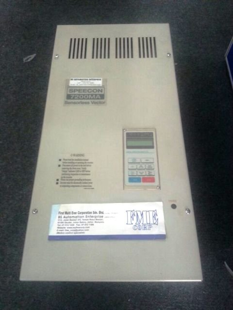 TECO SPEECON 7200MA SENSORLESS VECTOR INVERTER REPAIR INDONESIA MALAYSIA SINGAPORE