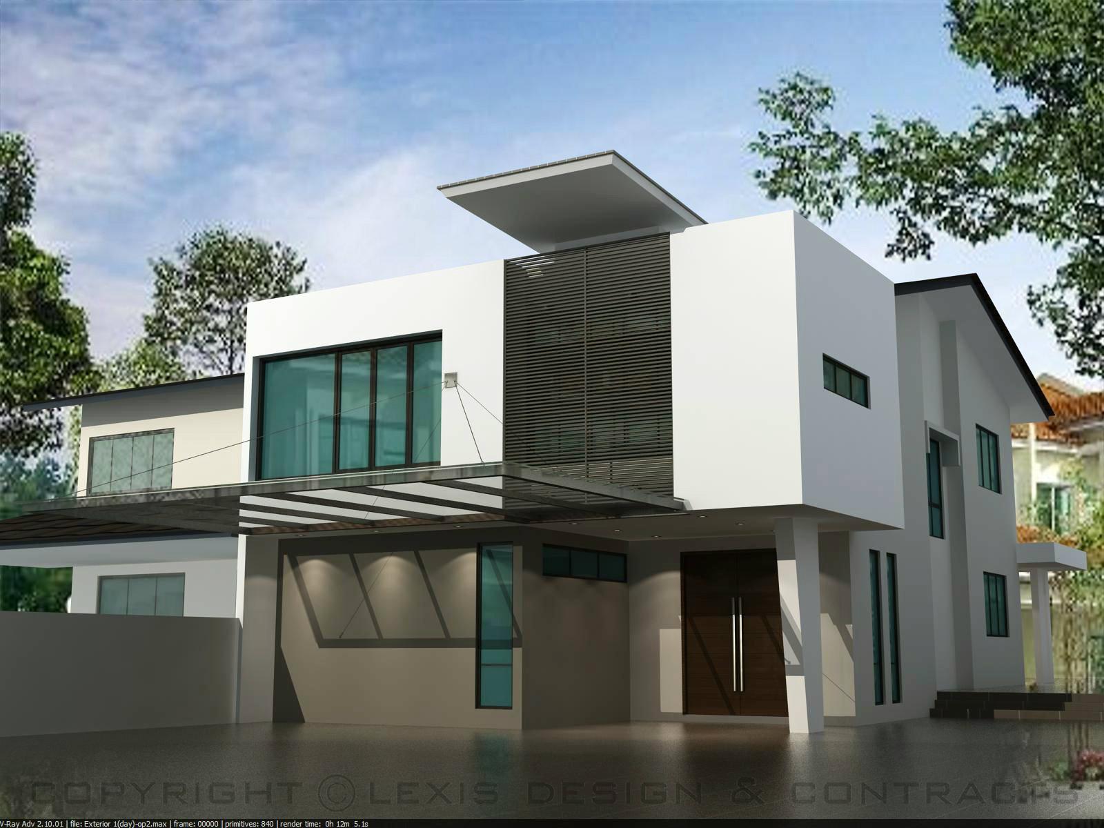 Exterior day view exterior design taman pelangi johor for Design hotel pandan indah