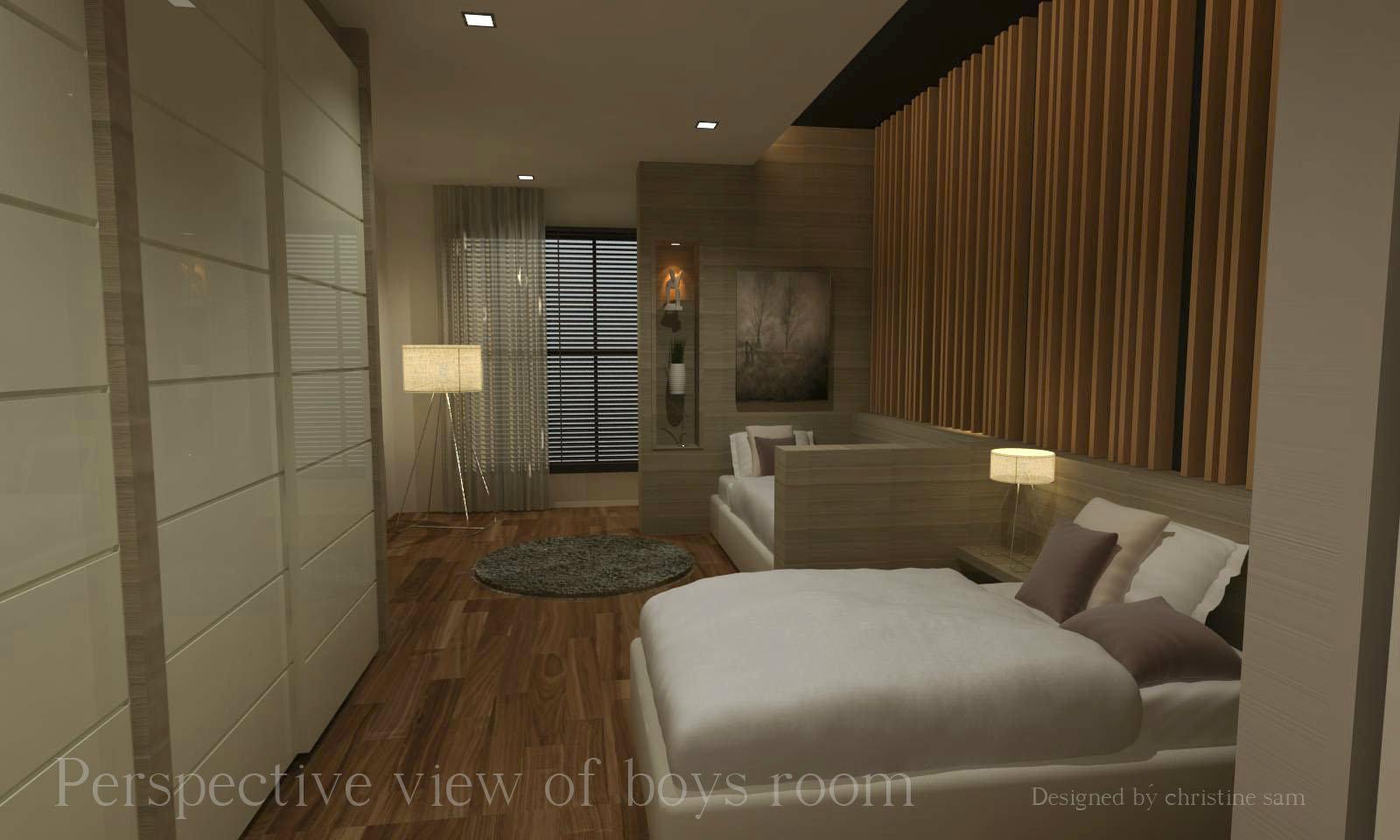 07 kid 39 s room residential design semi d taman ponderosa for Design hotel pandan indah