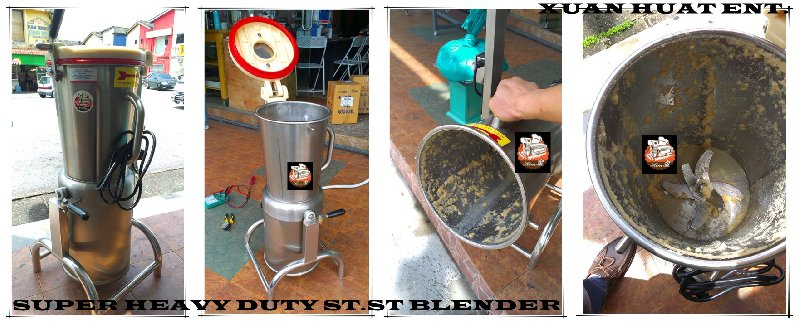 HEAVY DUTY STAINLESS STEEL BLENDER IN JOHOR BAHRU