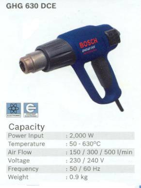 Bosch Ghg 630 Dce Hot Air Gun Power Tools Bosch Johor