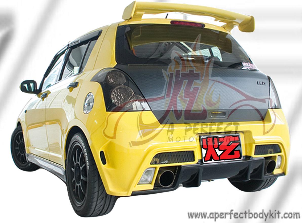 Suzuki Swift Sport Rear Diffuser