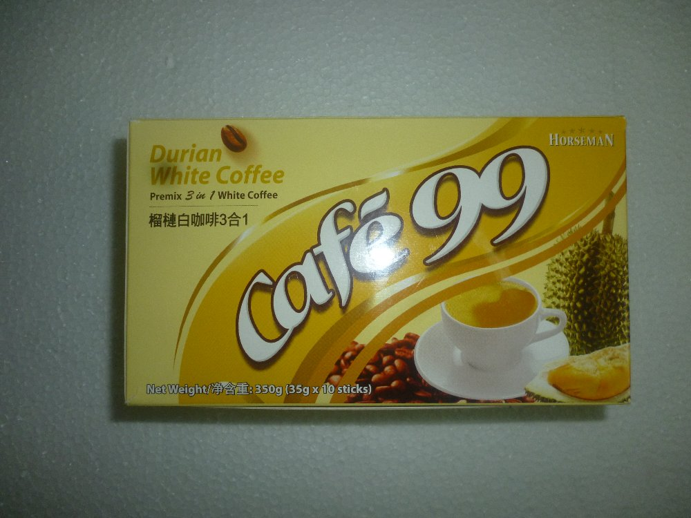 DURIAN WHITE COFFEE 35G