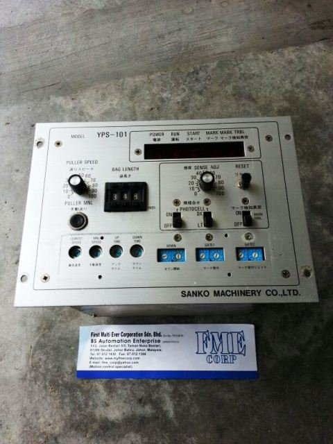 SANKO MACHINERY CONTROLLER MODEL YPS-101 REPAIR MALAYSIA INDONESIA SINGAPORE THAILAND