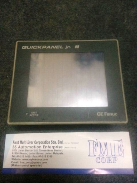 GE FANUC QUICKPANEL JR TOTAL CONTROL PROFACE GP370-LG41-24VP REPAIR MALAYSIA INDONESIA SINGAPORE
