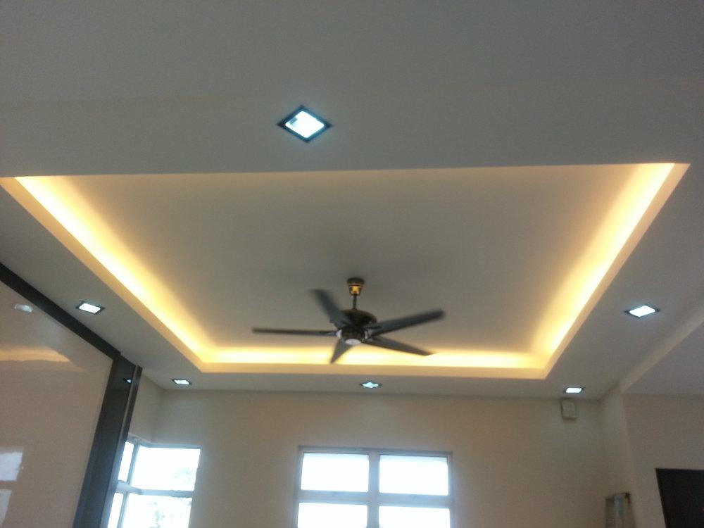 L Box Ceiling Jb Johor Bahru Plaster Ceiling Kempas