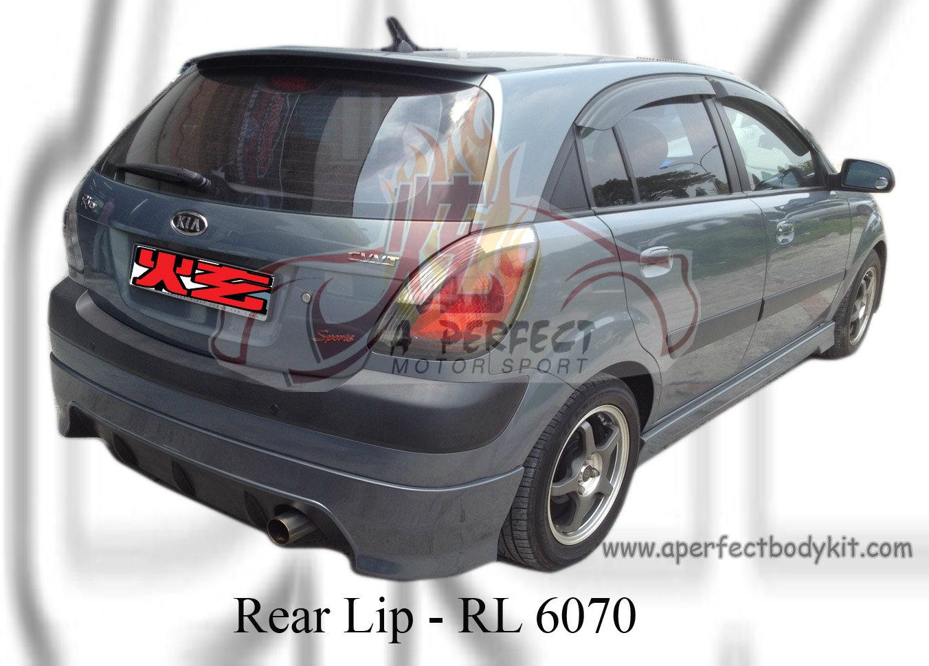 Kia Rio 2006 Hatchback Rear Lip Kia Rio Johor Bahru Jb