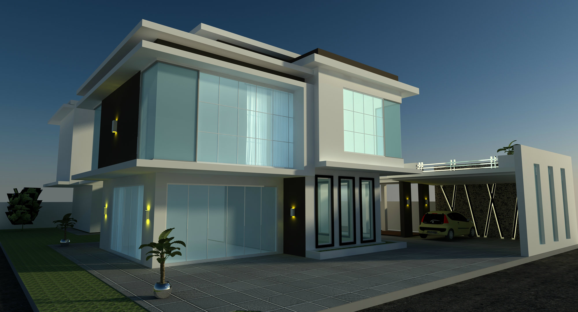 Modern house outlook design modern house for Home decor johor bahru
