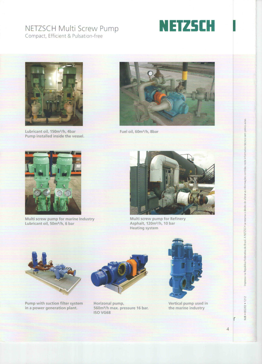 Netzsch Multi Screw Pump