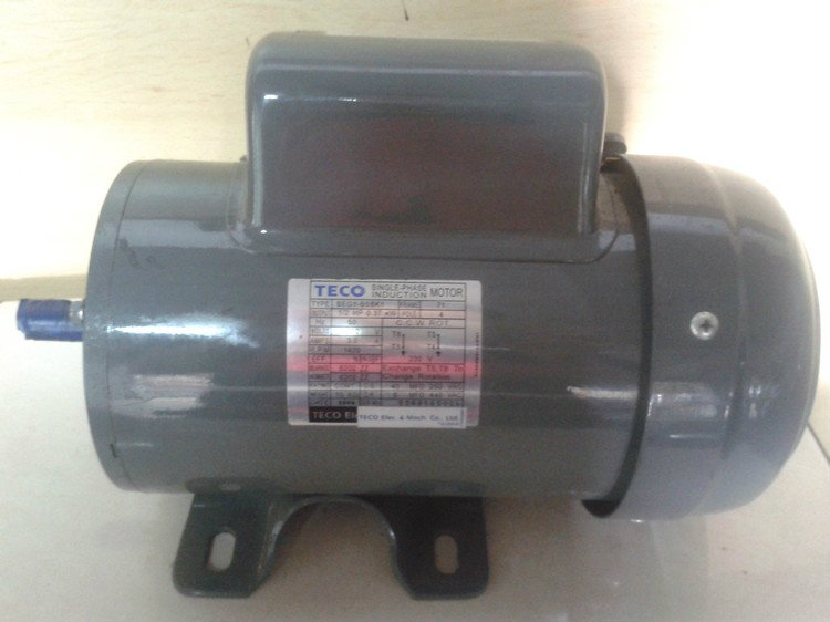 Offer Price for New Teco 0.37KW 1/2HP 4Poles Single Phase In
