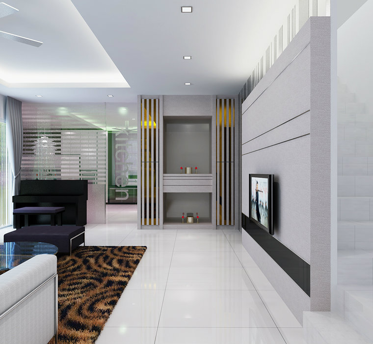 Renovation interior design in malaysia for Living room design johor bahru