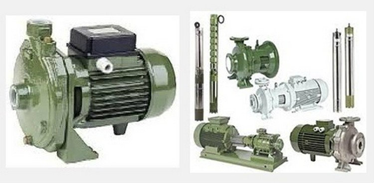 Saer Bareshaft End-Suction Centrifugal Pumps