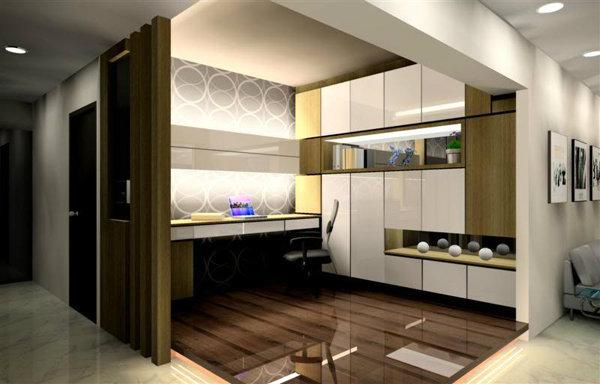 Study Room Design Kajang, Selangor, Malaysia Study Room Design ...