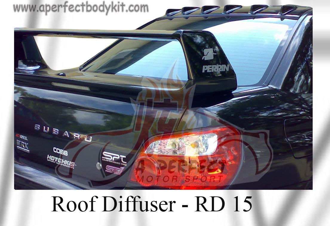 Subaru Version 9 Roof Diffuser