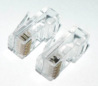 RJ45 Modular Plug 8P8C UTP CAT5E Connector