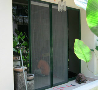 Cord Type Insect Screen