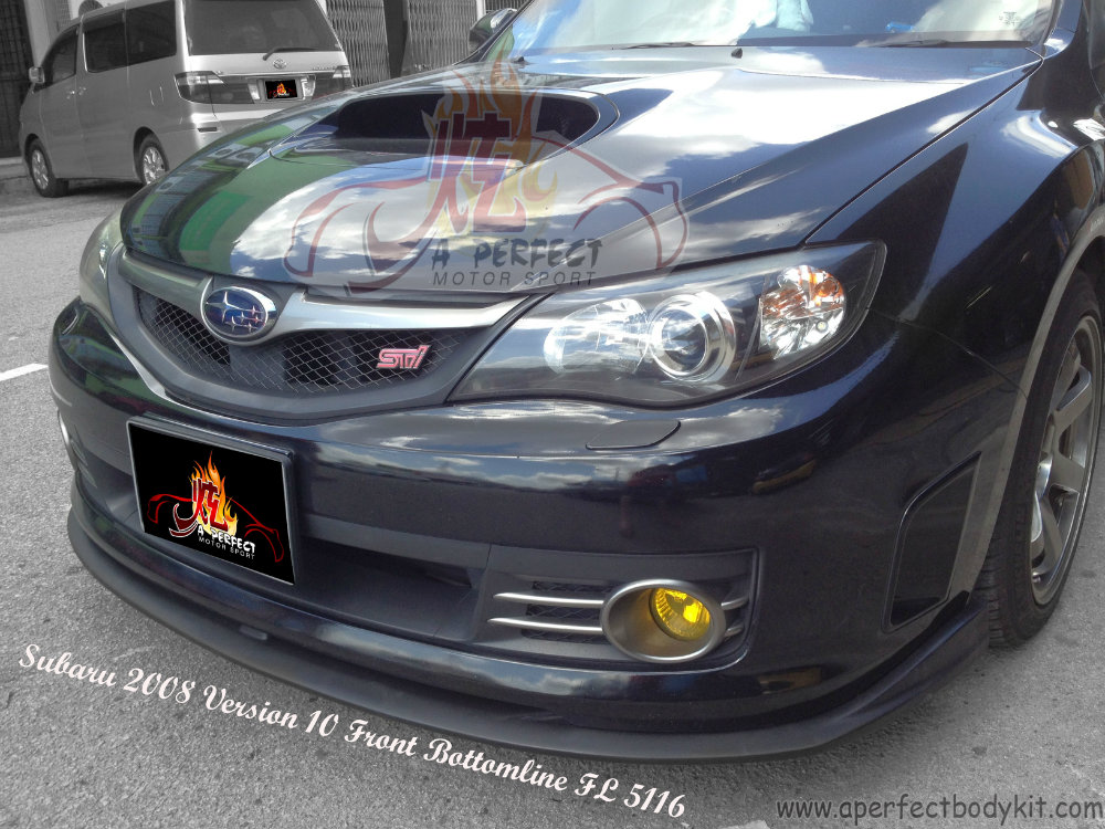 Subaru 2008 Version 10 Front Bottomline FL 5116