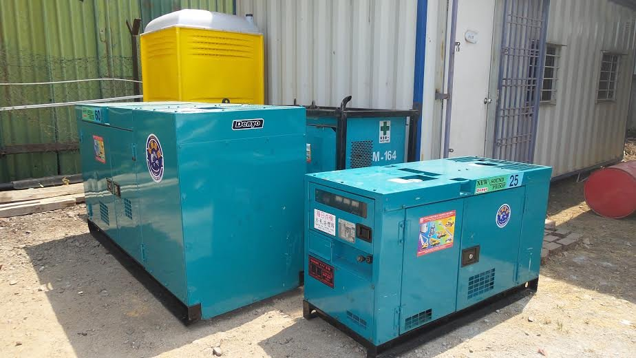 generator set 25kva 60kva 100kva 150kva rental in pengerang and tanjung bin