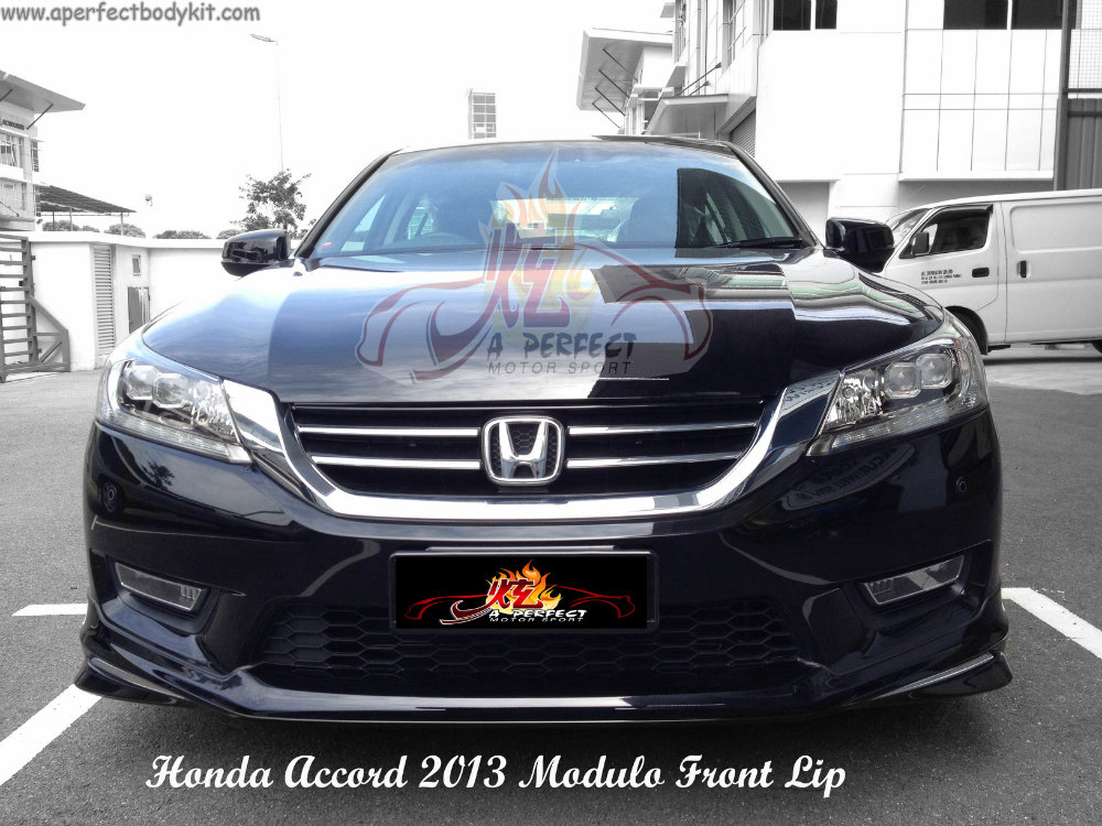 Honda Accord 2013 Modulo Front Lip Honda Accord 2013 Johor