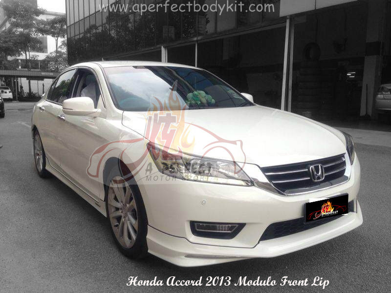 Honda Accord 2013 Modulo Front Lip