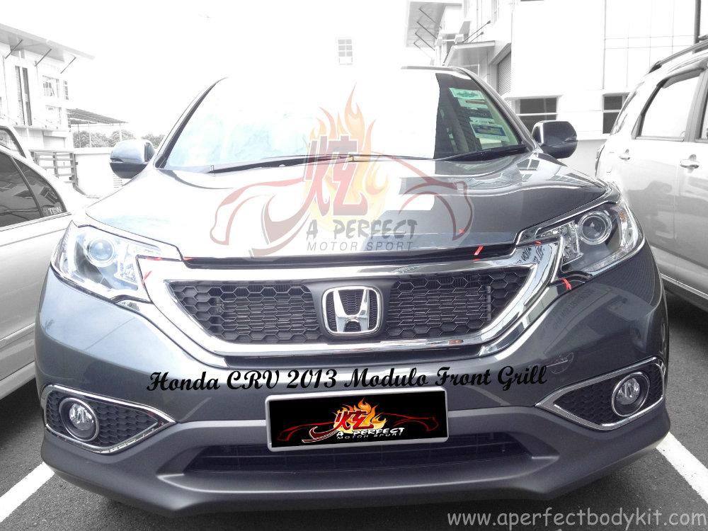 Honda CRV 2013 Modulo Front Grill Honda CRV 2013 Johor Bahru JB Malaysia Body Kits, A Perfect ...