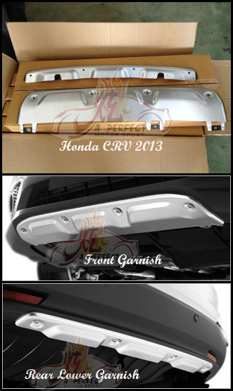 Honda CRV 2013 Front & Rear Lower Garnish