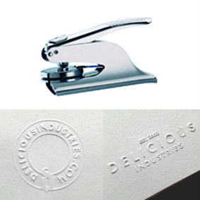 Embossing Seal with advance engraving