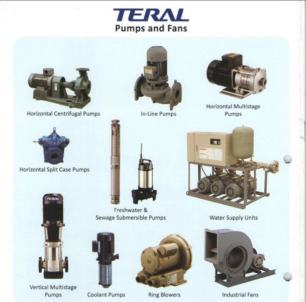 Teral Fresh Water & Sewage Submersible Pumps