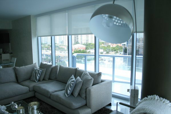 Roller Blinds (Living Hall)