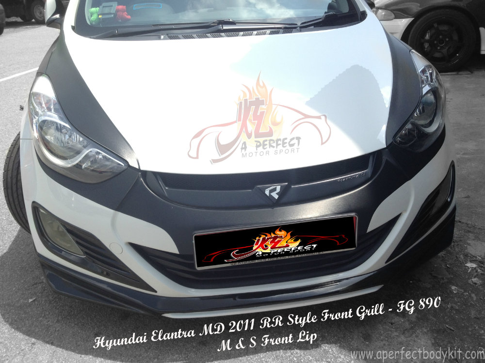 Hyundai Elantra MD 2011 RR Style Front Grill