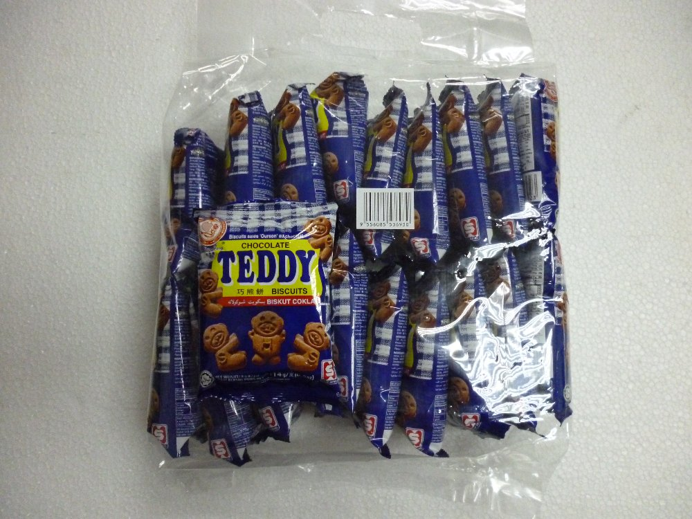CHOCOLATE TEDDY-BAG 20P
