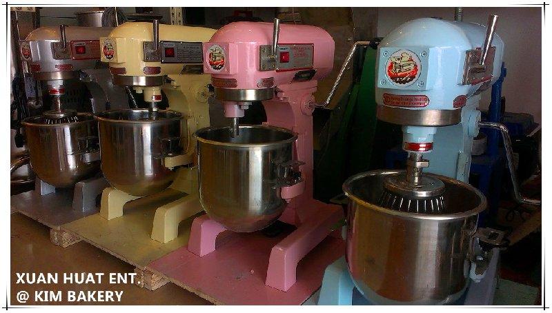 Colourful universal flour mixer in johor bahru