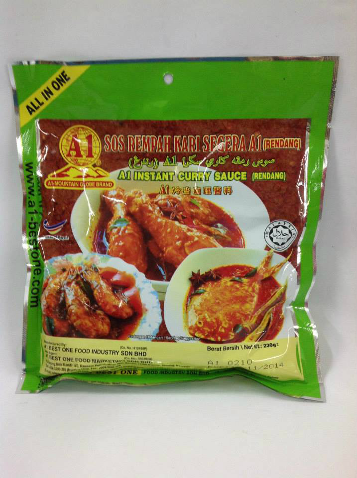 PS009A1 Instant Curry Sauce(Rendang)