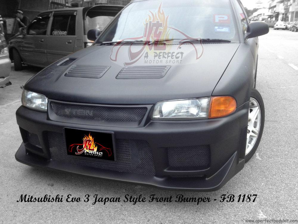 Mitsubishi Evo 3 Japan Style Front Bumper Mitsubishi Evo