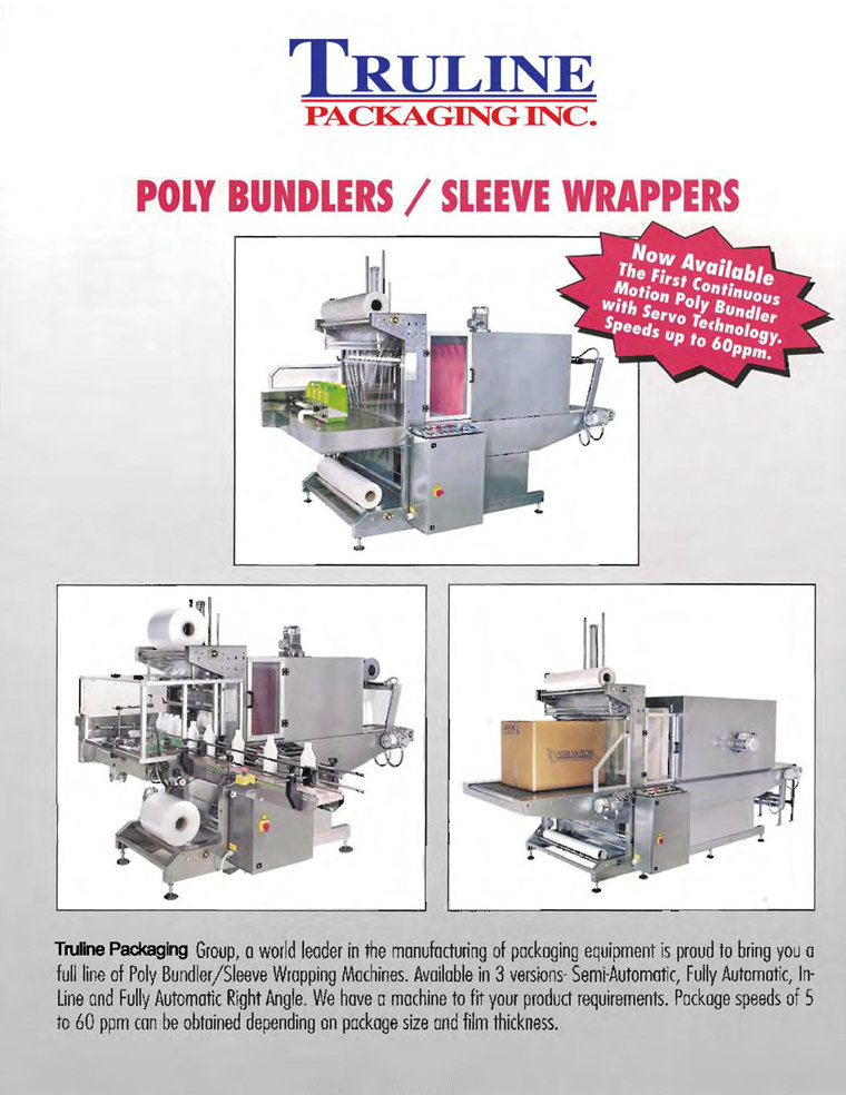 Poly Bundlers & Sleeve Wrappers