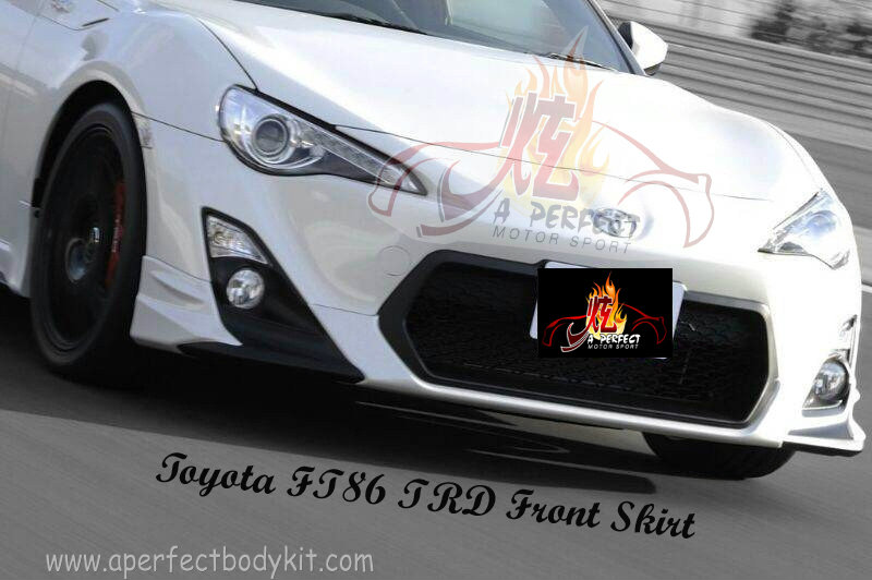 Toyota FT86 TRD Front Skirt