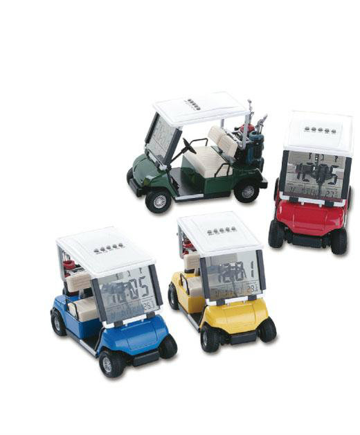 GS03-3 Golf Car with LCD Clock