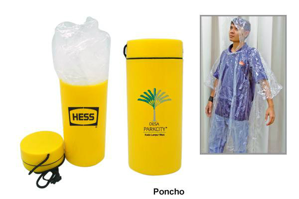 DU08-1 Disposable Poncho