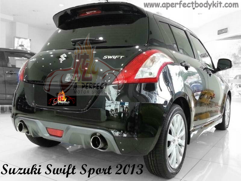 Suzuki Swift Sport 2013 Rear Bumper (2)