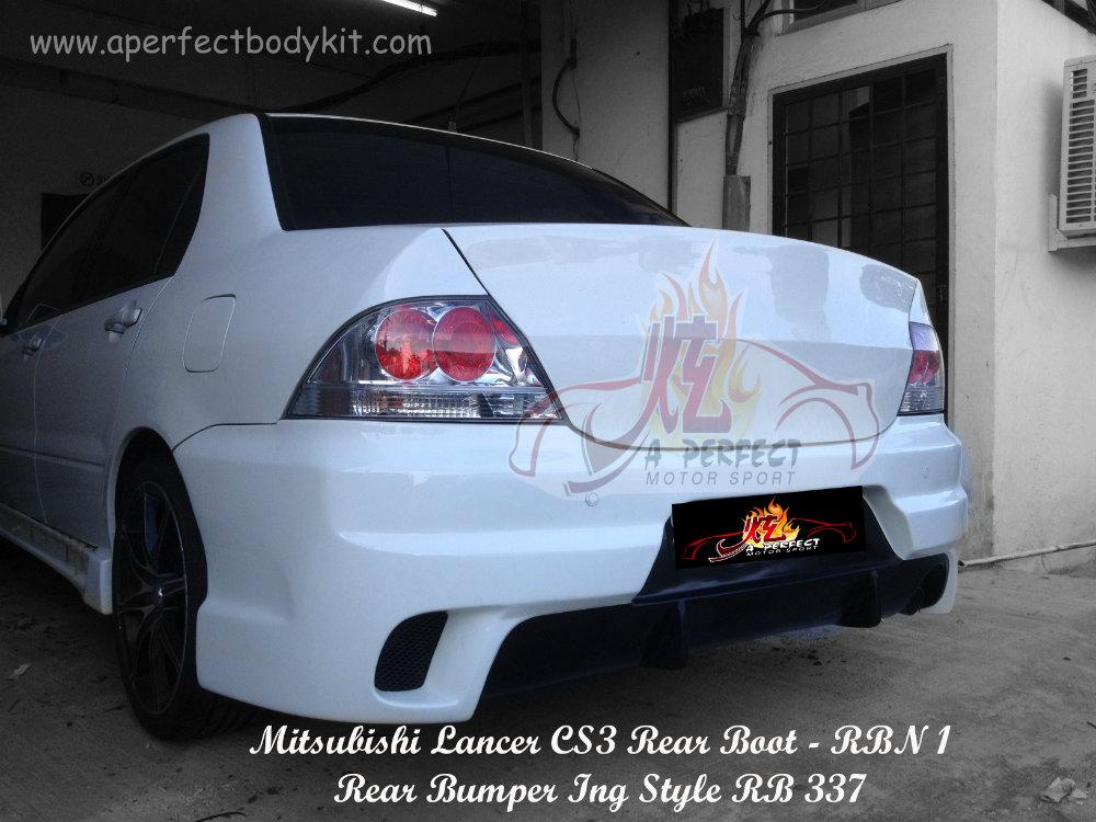 Mitsubishi Lancer Cs3 Ing Style Rear Bumper Mitsubishi