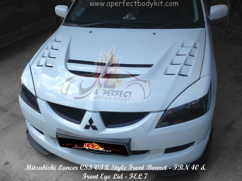compact mitsubishi lancer car sport hood magnetic p bra mask
