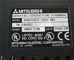 REPAIR MITSUBISHI GRAPHIC OPERATION TERMINAL HMI HTK270-M2 R
