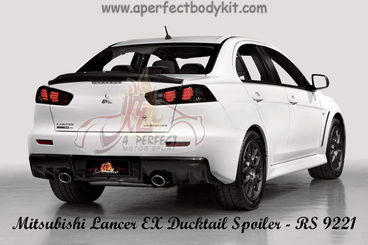 Mitsubishi Lancer Ex Rear Ducktail Spoiler Available In