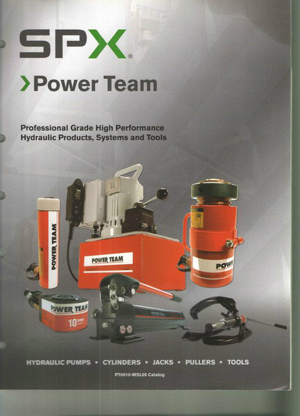Power Team Hydraulic Product, Systems and Tools