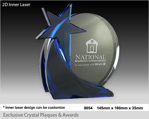 CT-9054Crystal Plaque / Awards