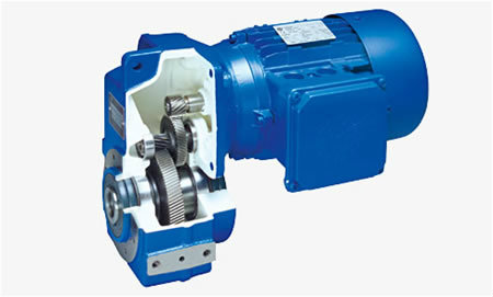 NORD Parallel Shaft Geared Motor