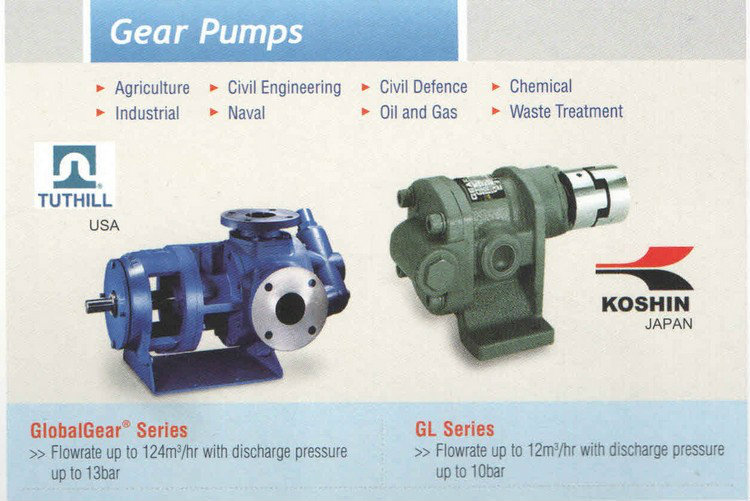 Tuthill Gear Pumps GlobalGear Series