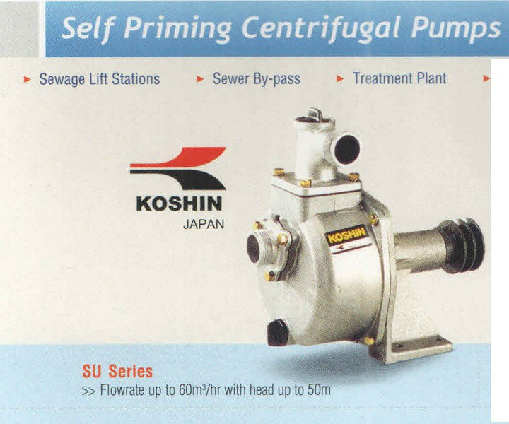 Koshin Self Priming Centrifugal Pump