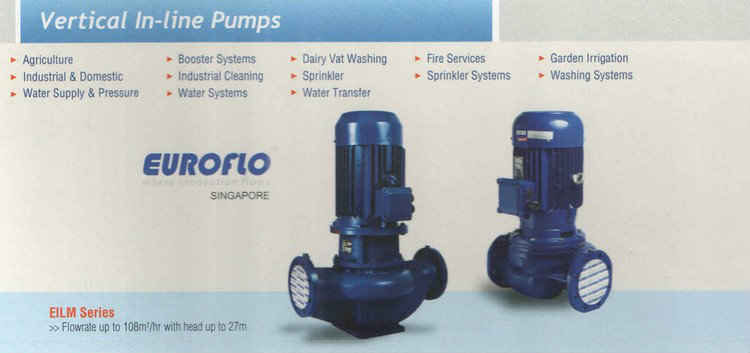 Euroflo Vertical In-Line Pump